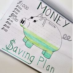 Layout of the money saving plan How to use your bullet to keep track of your . - bullet journaling - # bullet Layout of the money saving plan How to use your bullet to practice . Victoria Bullet Journal Layout o Bullet Journal Tracker, Bullet Journal School, Bullet Journal Budget, Bullet Journal 2019, Bullet Journal Notebook, Bullet Journal Spread, Bullet Journal Ideas Pages, Bullet Journals, Bullet Journal Uses