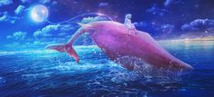 Master of Light Fantasy Manipulations By:Maria Lucia I am amazied at what she can do with her lighting in her digital art  see more at http://photoshopmeartistically.com/master-light-fantasy-manipulations-bymaria-lucia/ #photoshop #digital #art #photomanipulation #artist #digitalArt #animals #surreal #whale