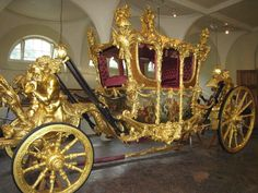 Golden Carriage at Buckingham Palace