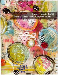 Mixed Media Artist Papers Vol. 2 by Robenmariesmith on Etsy, $ 15.99