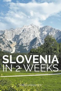 Planning travel to Slovenia? We've got the perfect Slovenia itinerary, check out our two week Slovenia itinerary and guide to responsible travel in Slovenia here! DOn't forget to pin this post to one of your boards to find it later..
