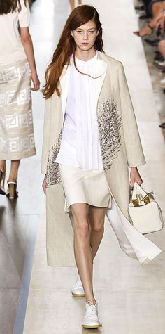 Runway Looks We Love: New York Fashion Week - Spring/Summer 2015 - Tory Burch #InStyle