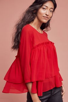 Shop the Tiered Ruffle Top and more Anthropologie at Anthropologie today. Read customer reviews, discover product details and more.