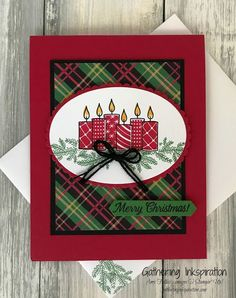 I can't stop making Christmas cards!!! I'm addicted!! We have so much great, new product to play with in our Holiday Catalog!! T...