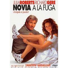 """NOVIA A LA FUGA, Dirigida por Garry Marshall, Interpretes: Julia Roberts , Richard Gere. 1999 - Maggie es una chica un poco loca e impulsiva de una ciudad cualquiera y que le encantan los enlaces matrimoniales, pero a la hora de pronunciar el """"Sí qui ..."""