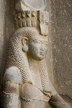 Queen Nefertari, Luxor Temple, Luxor, Nile Valley, Egypt, Africa