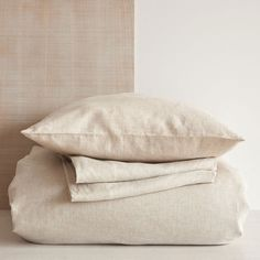 Natural-color linen bedding - Bedding - Bedroom | Zara Home United States