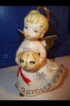 October Angel - Vintage Lefton Napco