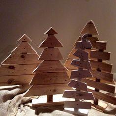 Alberi con legno di recupero