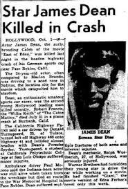 Weird news historic newspapers strange news social history history of news Peter Twohig Peter L. James Dean Car Crash, Vintage Hollywood, Classic Hollywood, Françoise Sagan, James Dean Photos, East Of Eden, Jimmy Dean, Actor James, Hollywood Actor