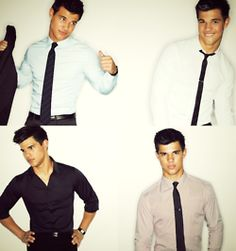 Not my favorite, but boy can wear a skinny tie.