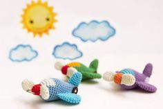 Items similar to Crochet Airplane Keychain Amigurumi Airplane Keychain crochet aircraft keychain Amigurumi Toy Keychain crochet toy keychain toy on Etsy Crochet Mandala Pattern, Crochet Amigurumi Free Patterns, Crochet Dolls, Love Crochet, Crochet Gifts, Crochet For Kids, Crochet Baby Mobiles, Crochet Keychain, Crochet Projects