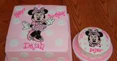 Minnie Mouse Cake Pic