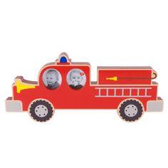 Fotolijstje brandweerwagen