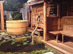 Outdoor Anese Soaking Tubs Wood Garden Design Ideas Wooden Benches Soaker Tub