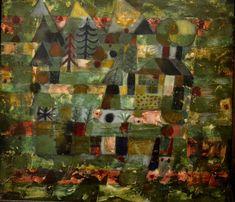 Landscape in Green, 1922. Paul Klee.