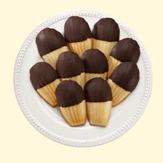 Dipped Madeleines | Repin this during the month of May 2014 for the chance to win five boxes of Madeleines!