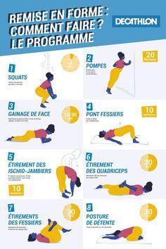 Summer Body Goals, Gymnastics Workout, Body Challenge, Yoga Gym, Sport Motivation, Decathlon, Running Workouts, Poses, Workout Videos