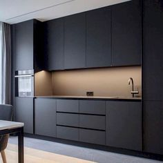 21 The Ultimate Perfectly Minimal Kitchen Design Trick 115 walmartbytes Minimalist Kitchen Design Kitchen Minimal perfectly Trick Ultimate walmartbytes Kitchen Cupboard Designs, Kitchen Room Design, Modern Kitchen Cabinets, Home Decor Kitchen, Interior Design Kitchen, Kitchen Layout, Granite Kitchen, Kitchen Sink, Cupboard Ideas