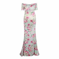 46d90c3c Maternity Dresses Photography Props Woman Maxi Dress Floral Ankle-Length  Hohemian Clothes for Pregnant Women