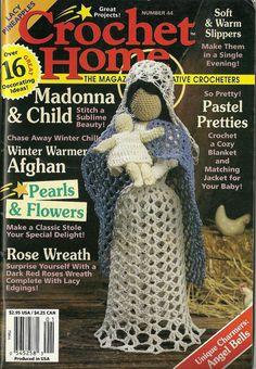 44  Crochet Home magazine crochet patterns by PrettyKnitShop, $5.50