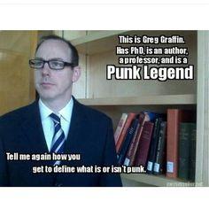 Greg graffin. Bad religion.