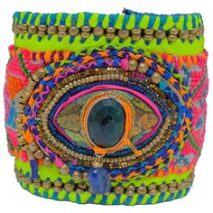 indian summer helios leather cuff | de petra