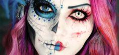 35 pomysłów na niezwykły makijaż na Halloween