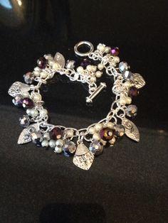 Charm bracelet by Tiffany Lane