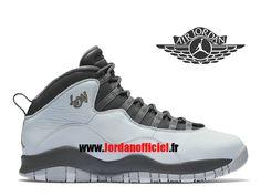 buy popular 109f4 e4e03 Air Jordan 10 Retro - Chaussures Baskets Offciel Pas Cher Pour Homme City  Pack London 310805