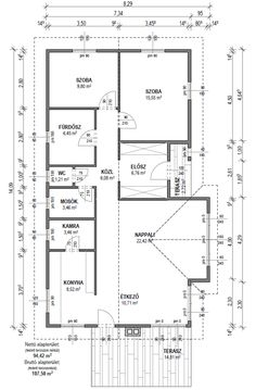 "Képtalálat a következőre: ""családi ház alaprajzok keskeny telekre"" Paradox, Home Interior Design, House Plans, Floor Plans, How To Plan, Design Bedroom, Bmw, Google, Home"