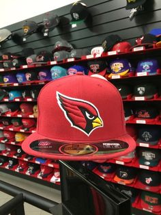 Cap New Era Cardinals Rot Fittet Cappy Neu! Größe: 7 (55.8cm)