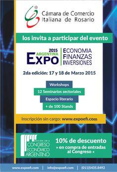 EXPO EFI 2015, Buenos Aires. 17 y 18 marzo 2015.