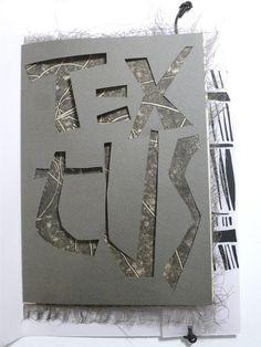 """Stéphanie Devaux Textus: Livre d'artiste """"Textus"""""""