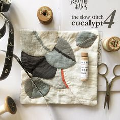 Fine art, illustration and everything in between. Celebrating childhood and botany and all the beautiful little things in life through thread and pencil. Quilting Projects, Quilting Designs, Sewing Projects, Quilting Ideas, Nancy Zieman, Fabric Crafts, Sewing Crafts, Colorful Quilts, Texture Art