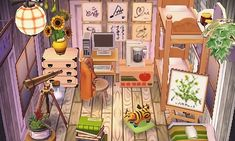 – Crankycitrus: tiny bedroom for a nature-loving … ? – Crankycitrus: tiny bedroom for a nature-loving … ? – Crankycitrus: tiny bedroom for a nature-loving … ? – Crankycitrus: tiny bedroom for a nature-loving … Animal Crossing 3ds, Animal Crossing Pocket Camp, Geeks, Motif Acnl, Ac New Leaf, Happy Home Designer, Rainbow Painting, Most Beautiful Pictures, Gallery Wall