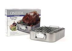 Oneida Commercial Roast Pan with Rack Oneida http://www.amazon.com/dp/B0007GAX72/ref=cm_sw_r_pi_dp_obVNub05WD2CA