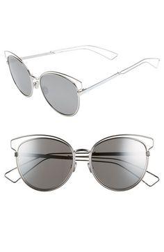 05e415bca4 Dior Siderall 2 56mm Round Sunglasses