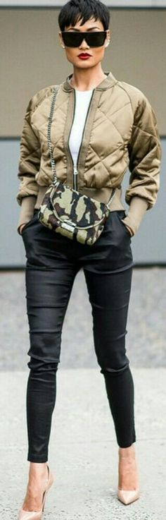 Military Chic / Fashion by Micah Gianneli