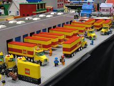 Flickr Lego Modular, Lego Design, Lego City, Vw Bus, Auto Union 1000, Wiking Autos, Lego Wheels, Best Lego Sets, City Layout