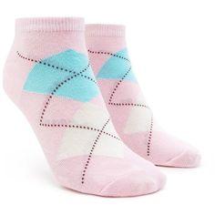 Forever21 Argyle Print Ankle Socks (220 RSD) ❤ liked on Polyvore featuring intimates, hosiery, socks, argyle socks, tennis socks, forever 21, forever 21 socks and short socks