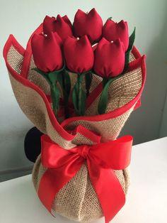 Peso de Porta Tulipa.  Feito na cor que o cliente desejar.