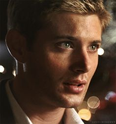 I know its not actually Supernatural related but its Jensen Ackles. Who could resist pinning that?