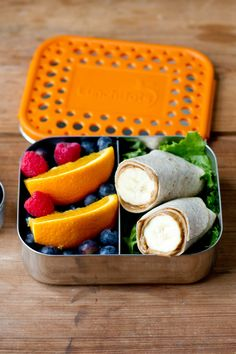 Classic Duo Two Section Divided Container by LunchBots on @HauteLook
