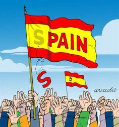 WK voetbal 2014 - Spanje - Nederland