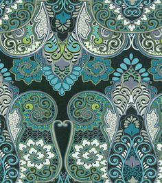 Outdoor Fabric- Kas Marapi Sterling $9.99 on sale at fabric.com - SO BEAUTIFUL