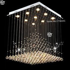 1cb2dff48e9 chandelier luxury Picture - More Detailed Picture about European style  living room lamp crystal chandelier Luxury lamp square creative lighting  bedroom lamp ...