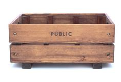PUBLIC Wooden Bicycle Crate