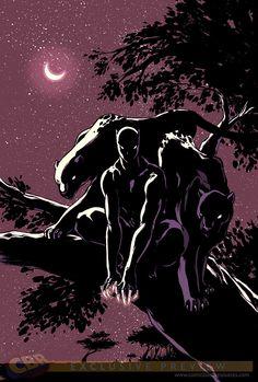 variant cover for Marvel's Secret Wars panther Black Panther Storm, Black Panther Art, Black Panther Marvel, Marvel Fanart, Marvel Dc Comics, Marvel Heroes, Mcu Marvel, Geeks, Comic Books Art