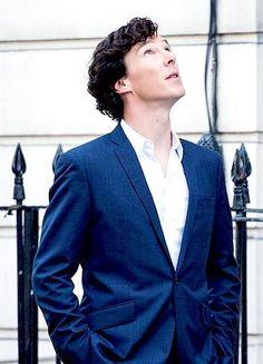 "And then God made Benedict Cumberbatch and said, ""dayum I'm good"""